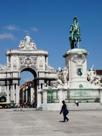 Big arch in Lisbon