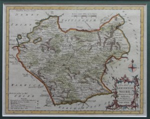 Leicestershire Kitchen map 1764