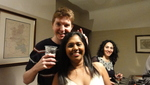 Alan and Manasvi's party