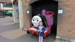 Millie at Thomas land